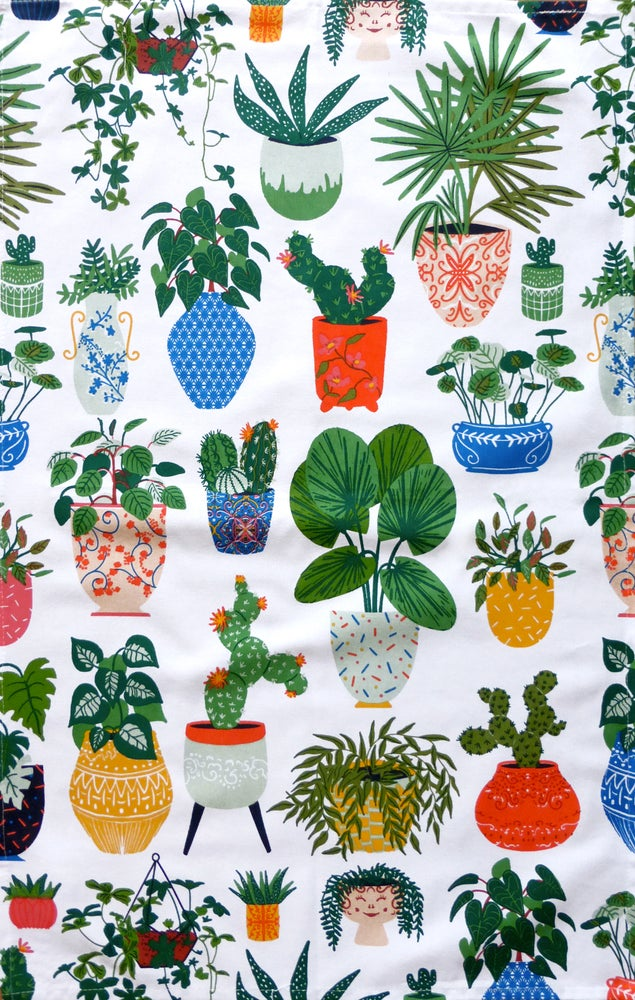 Image of Plant Tea Towel
