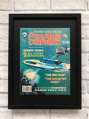 Image of Framed Vintage Comics- Stingray