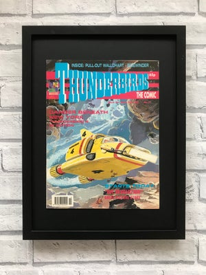 Image of Framed Vintage Comics- Thunderbirds