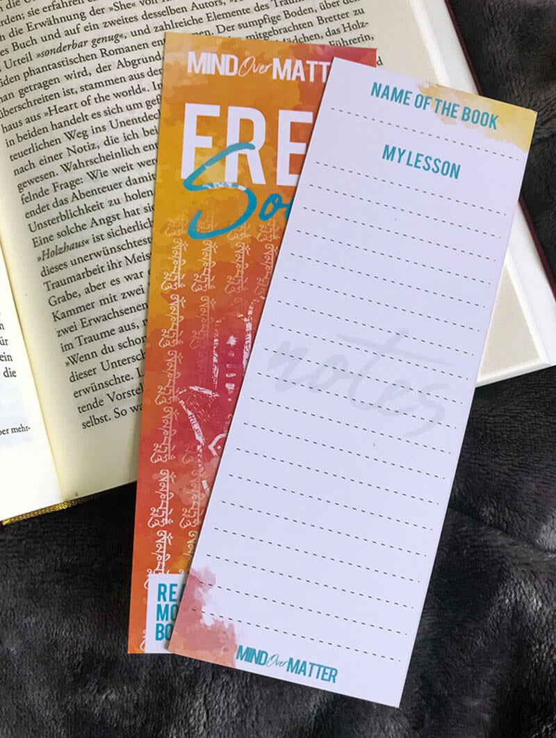 "Image of BOOKMARK ""FREE SOUL"""