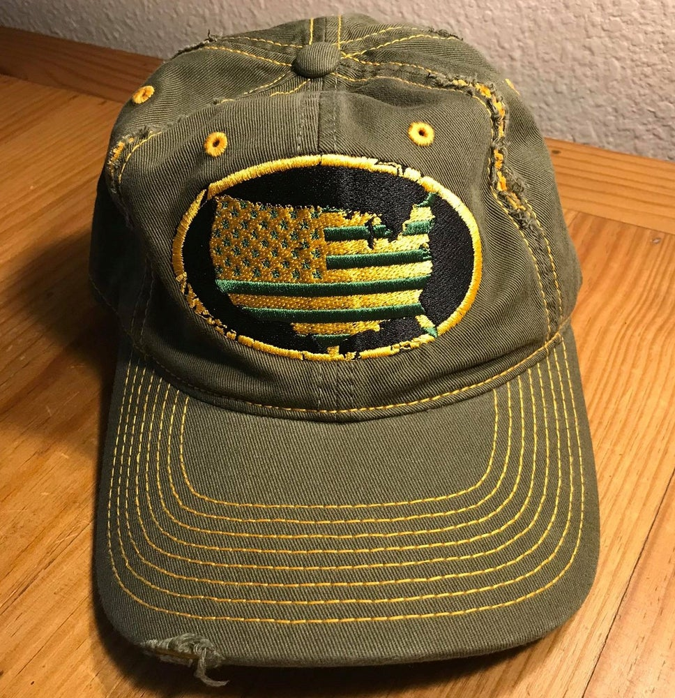 Image of HOME OF THE BRAVE - DISTRESSED HAT