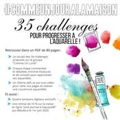 Image of  #COMMEUNJOURALAMAISON - 35 challenges en pas à pas
