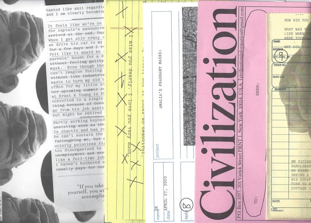 Image of The Civilization Letter Service #4