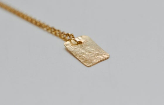 Image of Bettina gold necklace