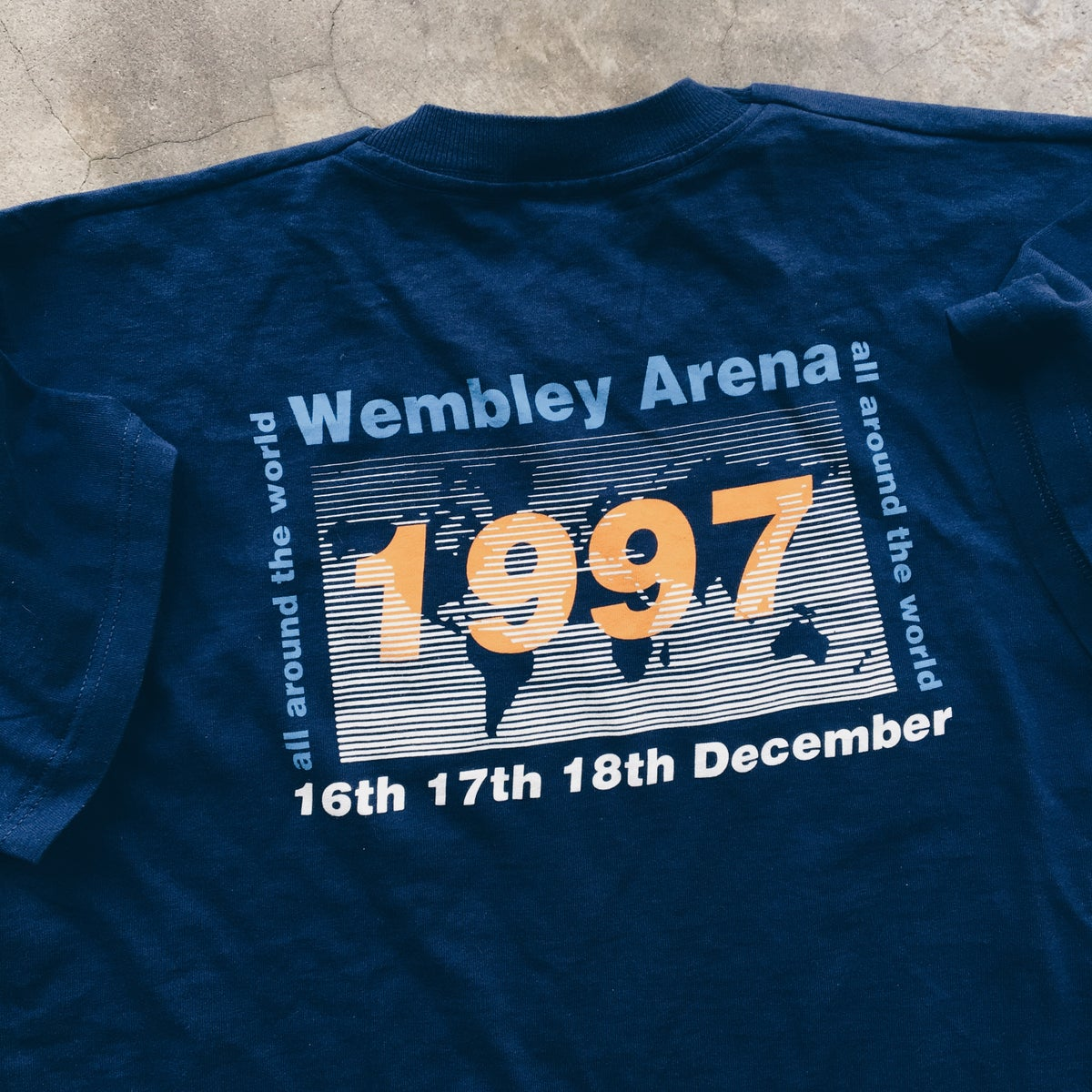 Image of Original 1997 Oasis Wembley Tee.