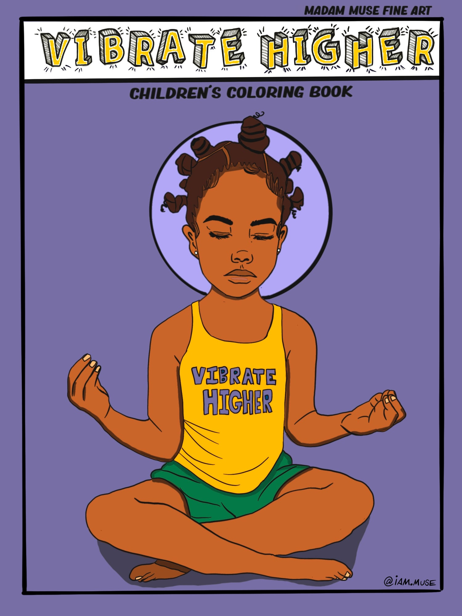 "Image of ""Vibrate Higher"" Children's Coloring Book"