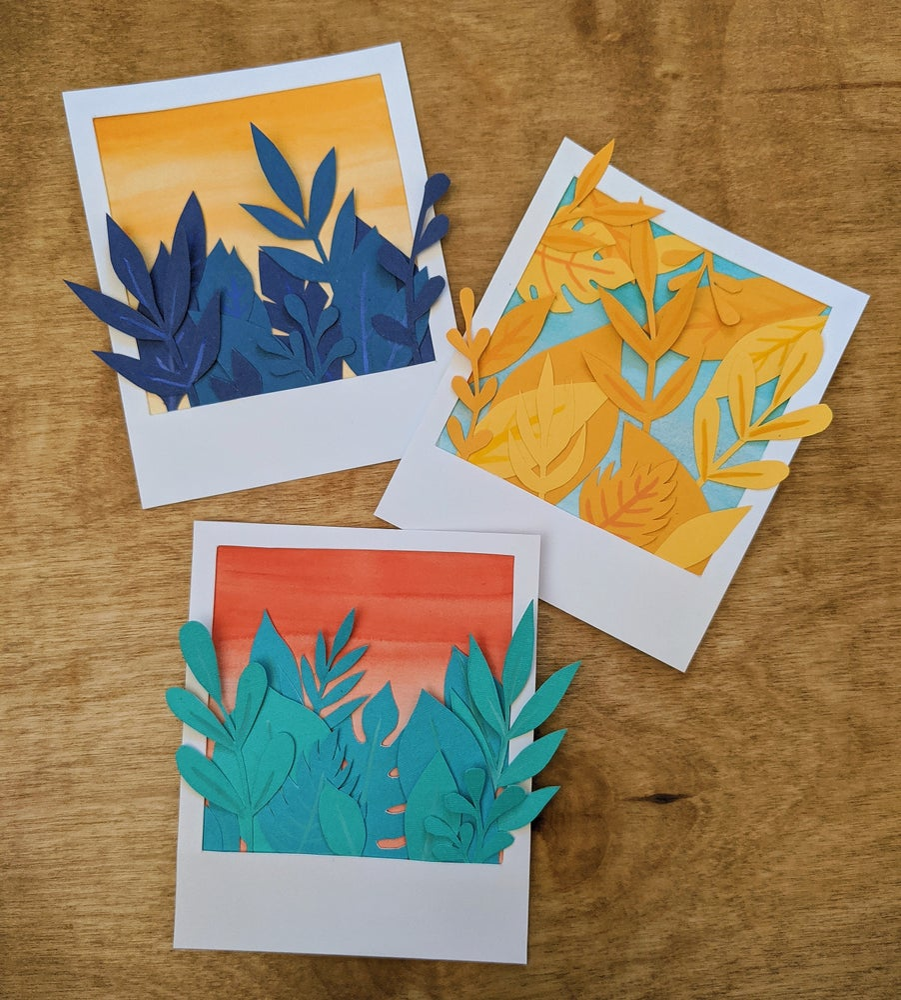 Image of Paper Polaroids: Bright series