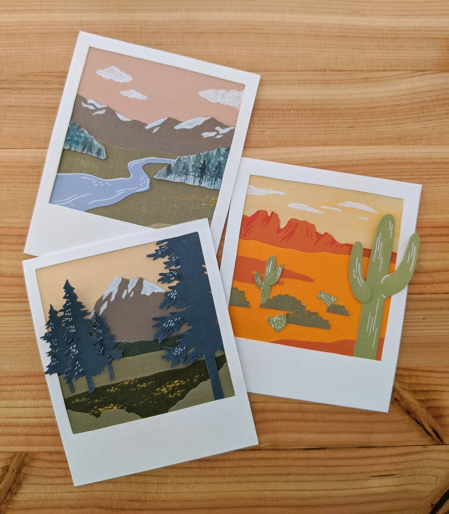 Image of Paper Polaroids: Adventure series
