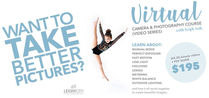 Image of LRP Virtual Camera & Photography Course - 6 Part Video Series