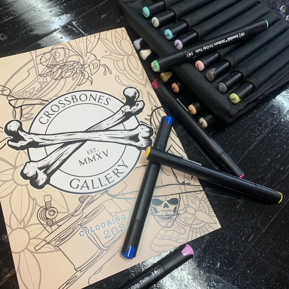 Crossbones x Death or Glory Colouring Book 2020