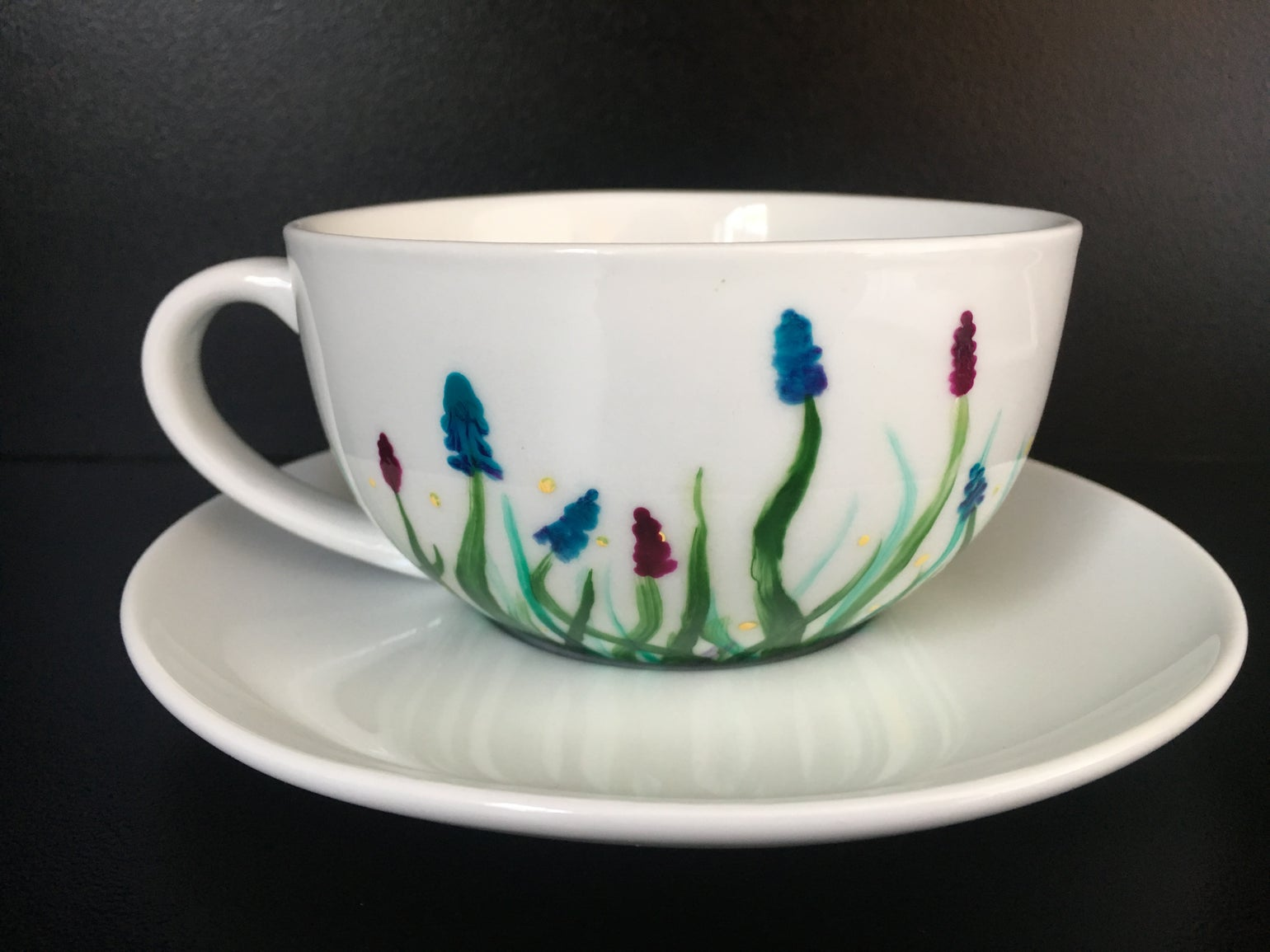 Image of Wildflower Cup and Saucer