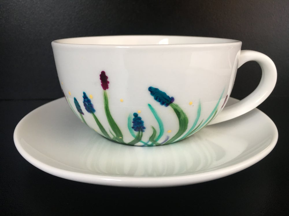 Wildflower Cup and Saucer