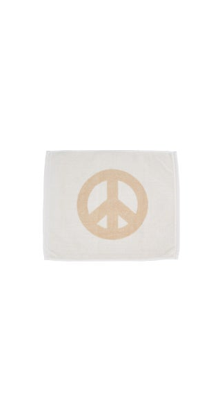 Image of Small Peace Towel <div> Cream & Scour </div>
