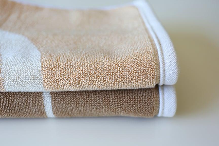 Image of Small Peace Towel <div> Cream & Scour </div>