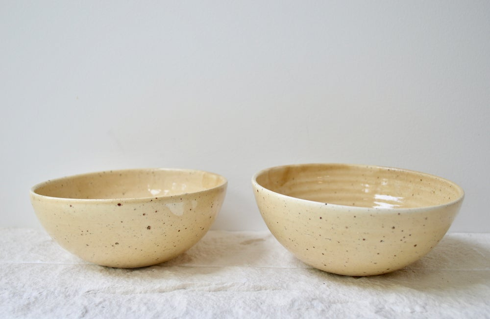 Image of Ceramic Bowls - Ochre