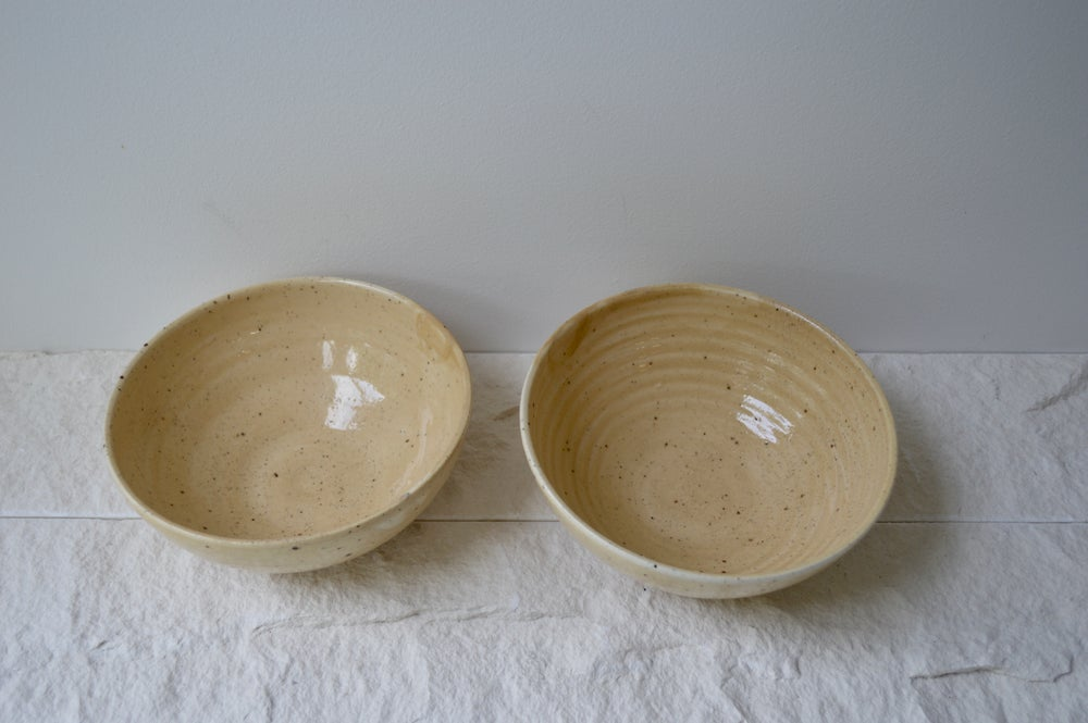 Image of Ceramic Bowls - Ochre - In stock
