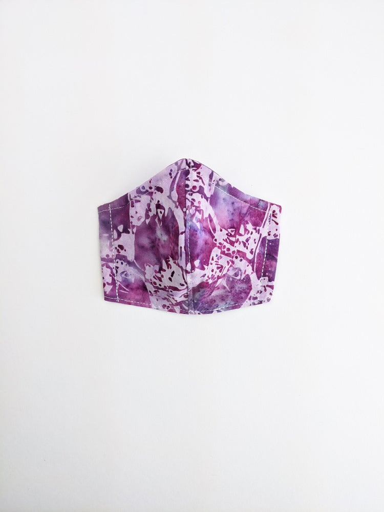Mask * Purple Batik
