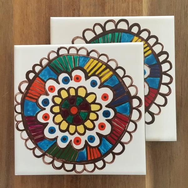 Image of Ceramic Coasters