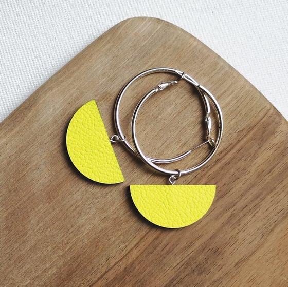 Image of SELENE hoop earrings