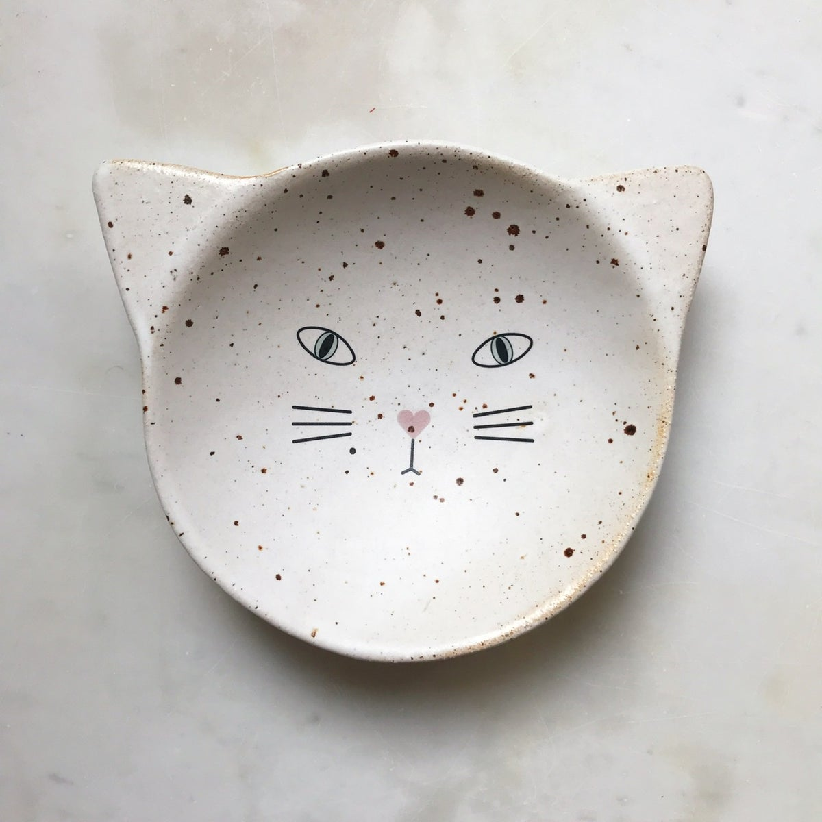 Image of Cat - medium bowl