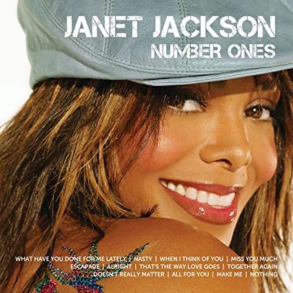 Image of Janet Jackson - NUMBER ONES CD