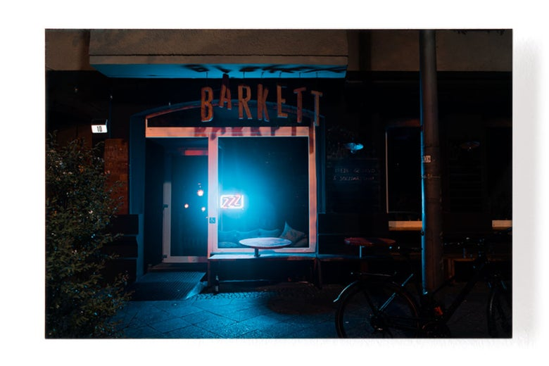 Image of ZZZ Berlin - Barkett Bar