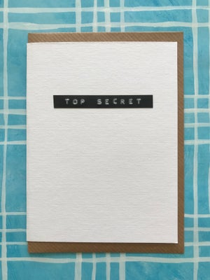 Image of Top Secret/Highly Confidential/Classified
