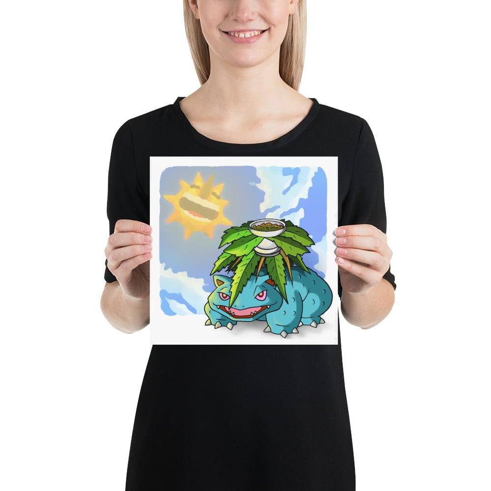 Image of Weedusaur 10x10