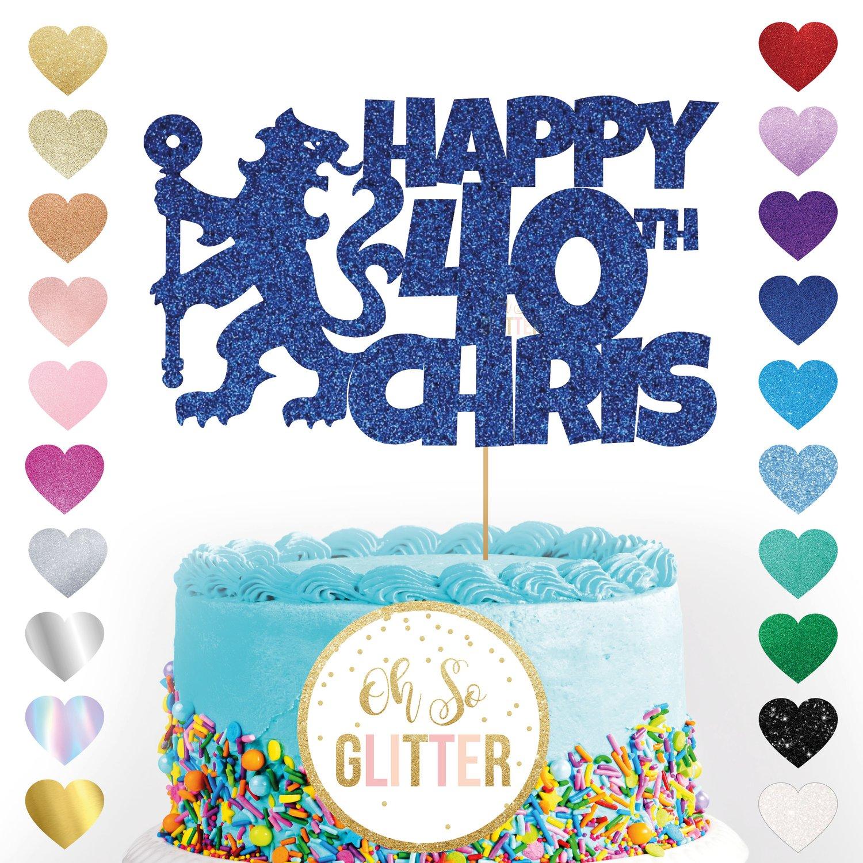 Image of Chelsea Football customised cake topper