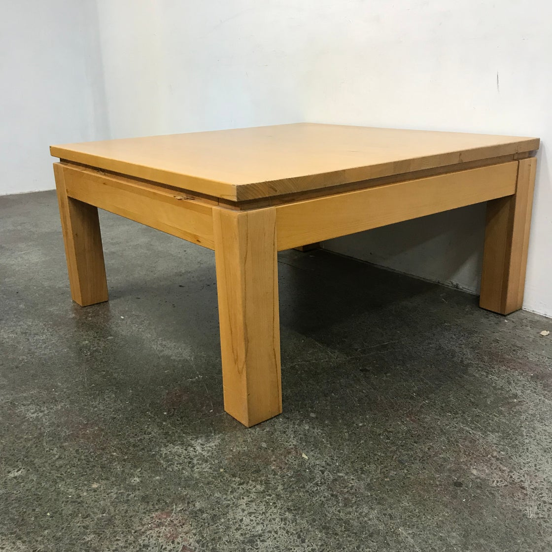Image of LARGE TASSIE OAK COFFEE TABLE