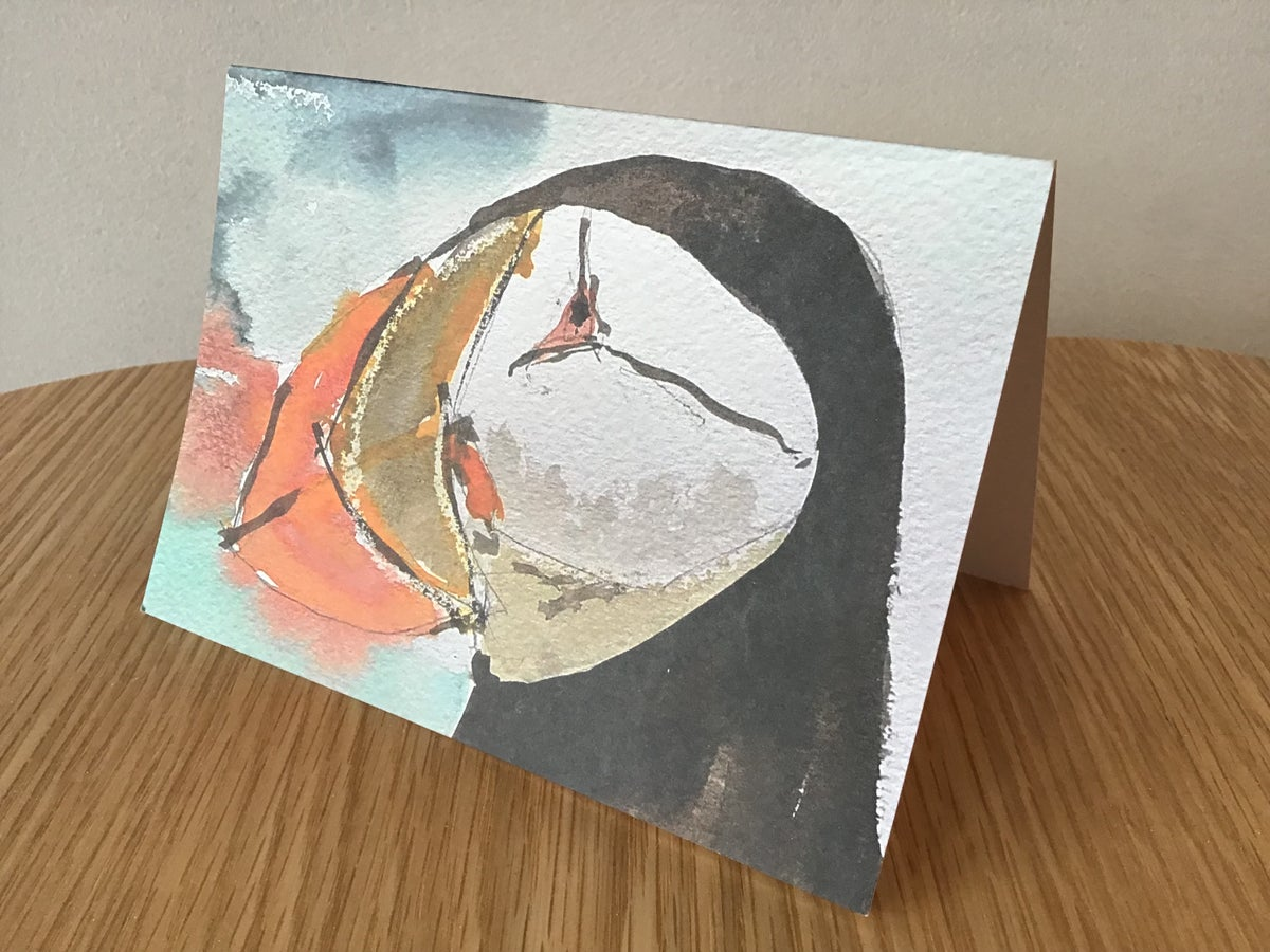 Puffin Cards - 5 card pack