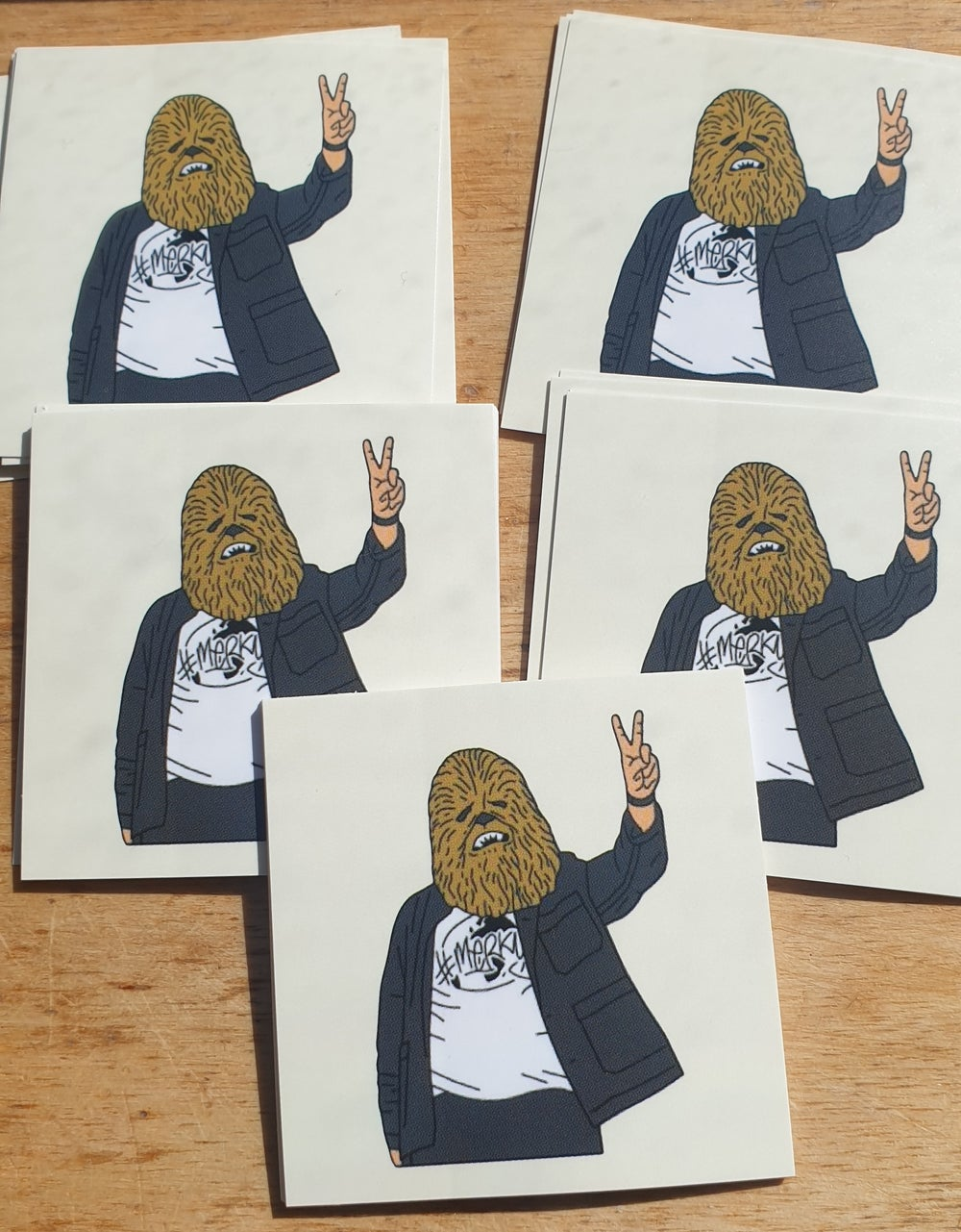 Chewis (Lewis) Capaldi 10x Stickers