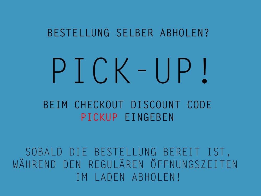 Image of NICHT in den Warenkorb legen! ////// PICK-UP