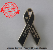 Image of CAVAN - TRIBUTE RIBBON PIN BADGE - Limited Stock