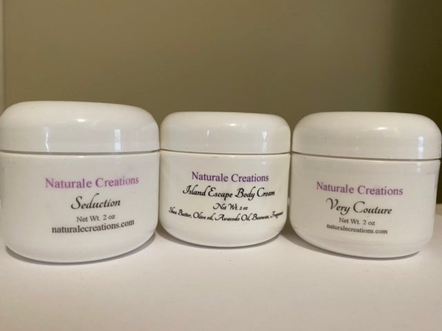 Image of 2 oz Natural Body Creams