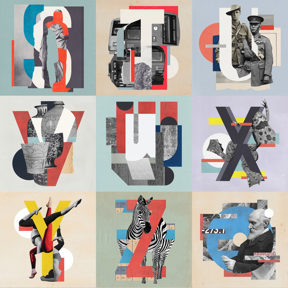 36 DAYS OF TYPE 2020 - LETTERS & NUMBERS - FINE ART PRINT