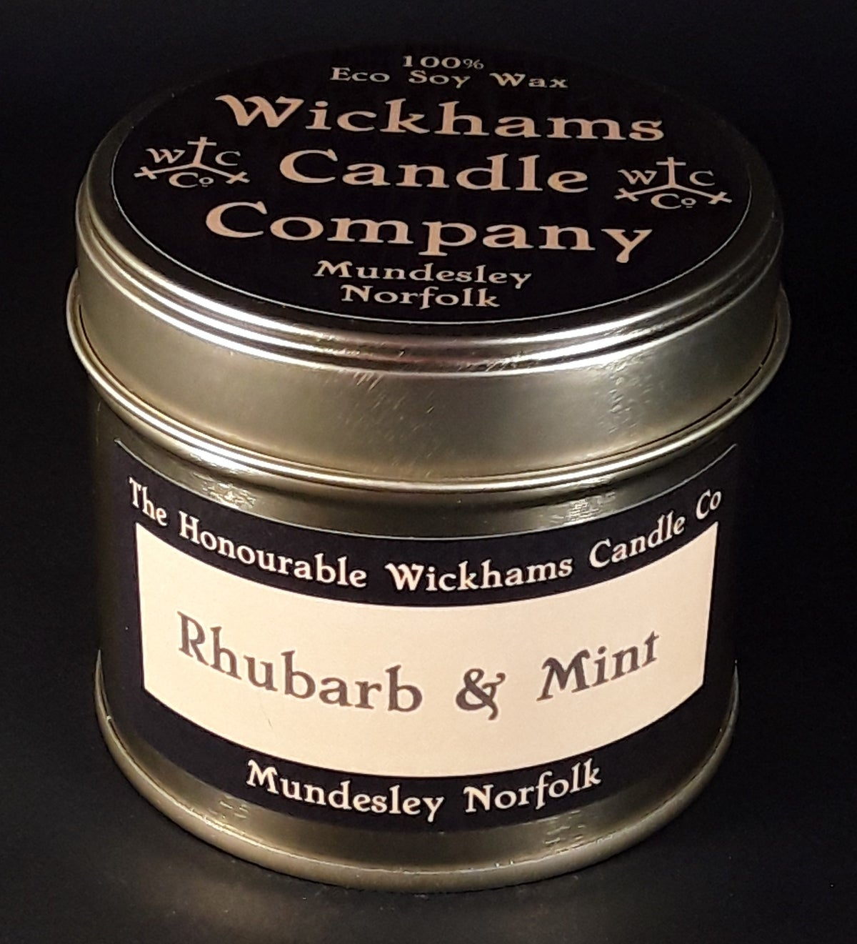 Image of Rhubarb and Mint (Vegan/GM Free)