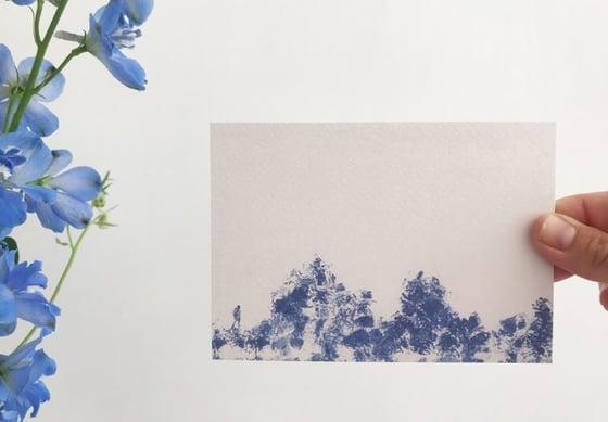 "Image of postkaart ""op weg"""
