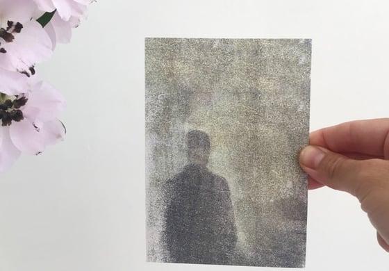 """Image of postkaart """"mijmeren"""""""