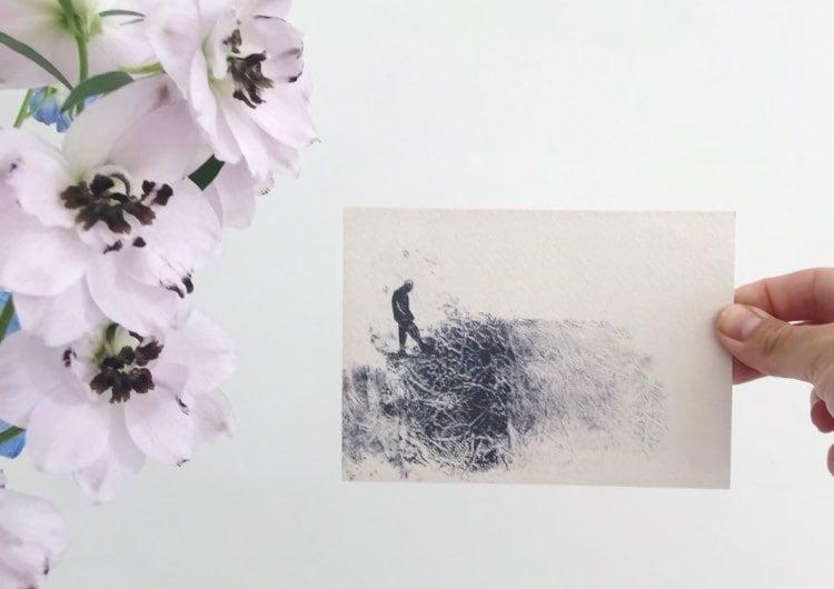 """Image of postkaart """"interne monoloog"""""""