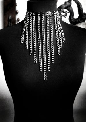 Necklace Chains and Vegan leather  - FREE SHIPPING