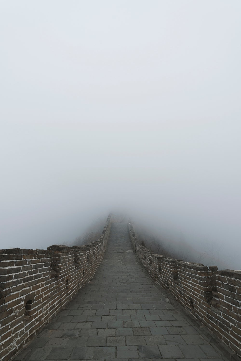 Solitude at The Endless Wall (Great Wall, China)