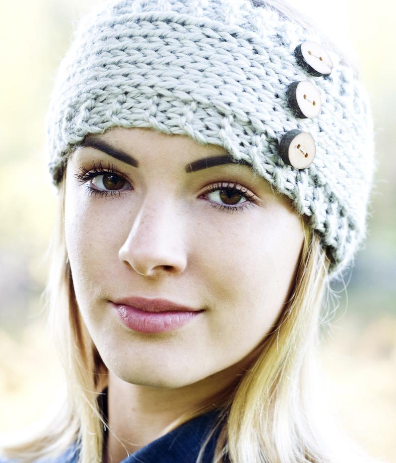 Image of Wanderlust Headband Knitting Pattern PDF Download