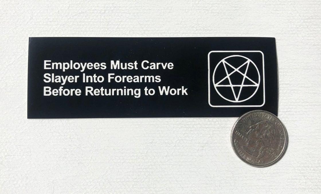 Image of Mini Carve Slayer Stickers