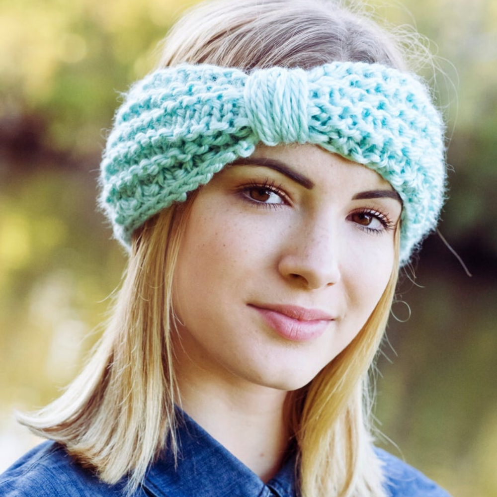 Image of Explorer Headband Knitting Pattern PDF Download