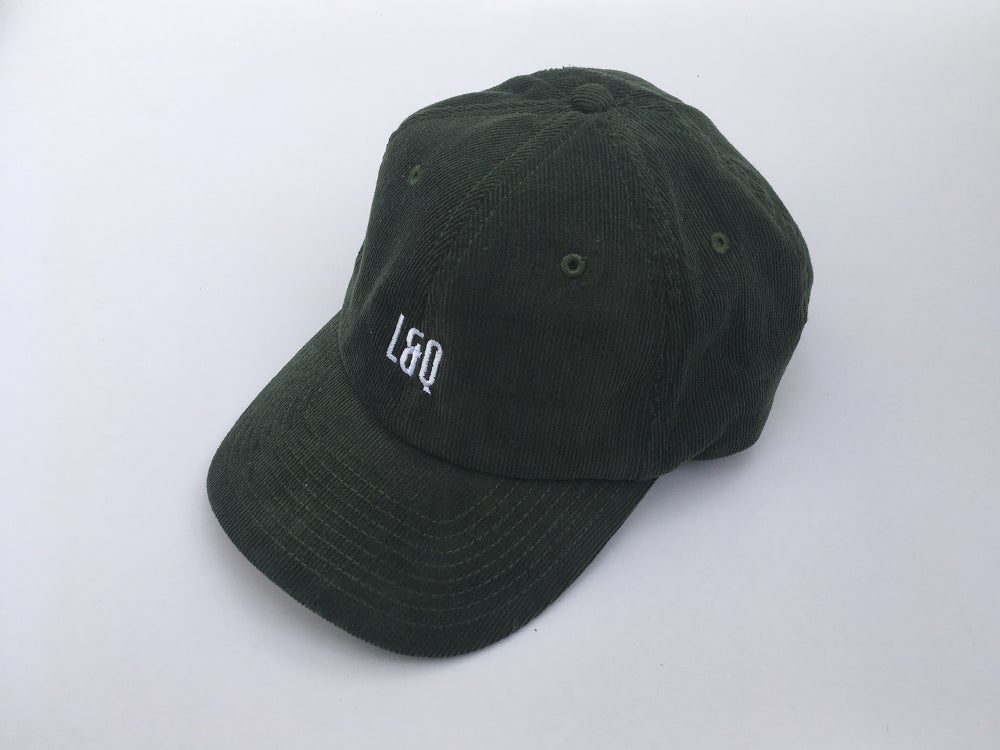 Image of L&Q Cord Cap – Olive Green