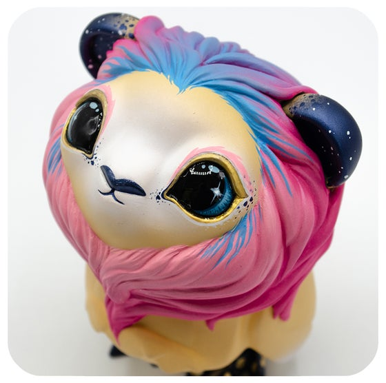"Image of Baby Cosmic Lion - 4.5"" Custom Coarse Omen"