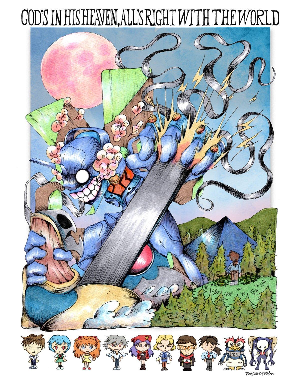 Image of Neon Genesis Evangelion Poster
