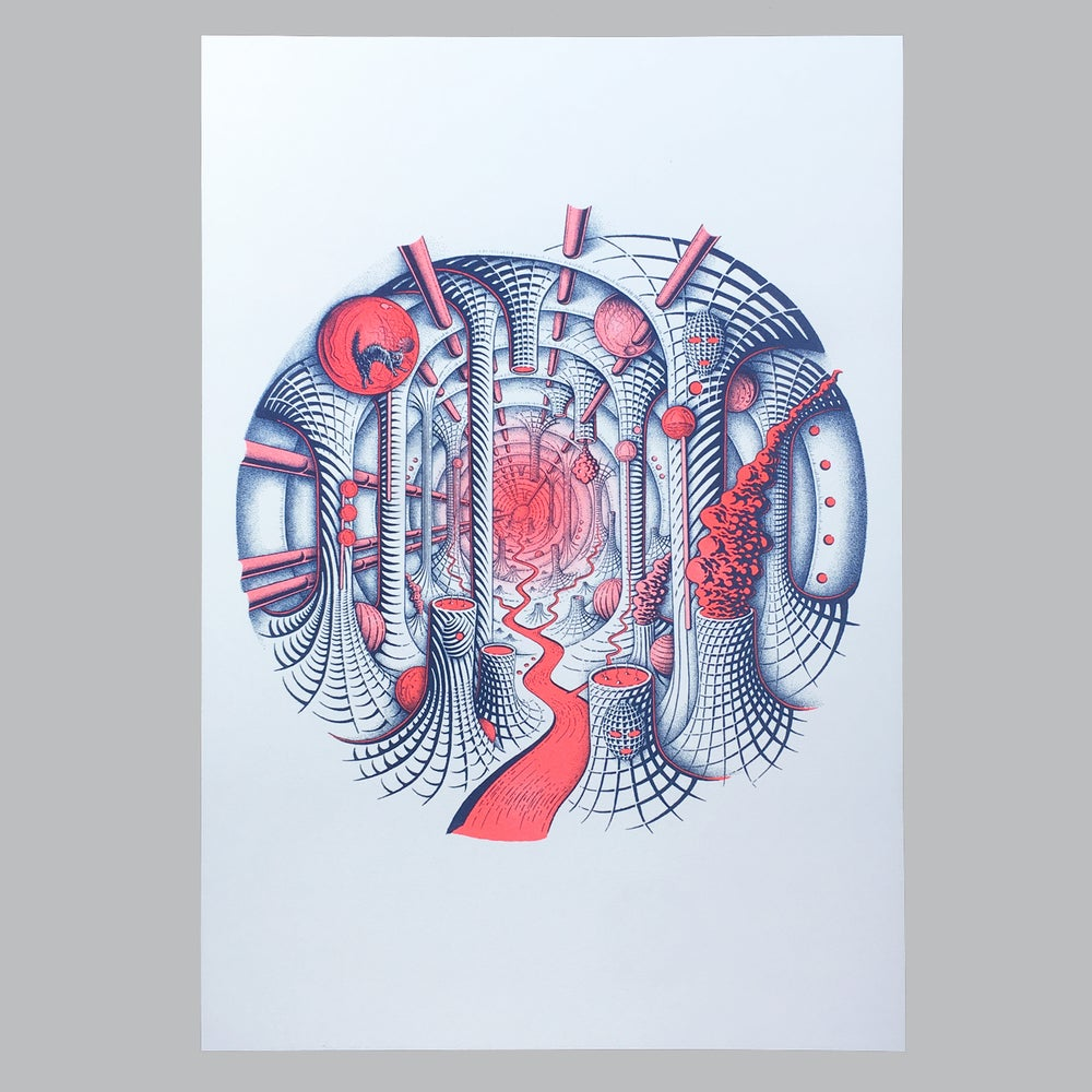 Image of Ovo D'oeuvre Risograph
