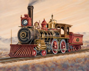 Image of Union Pacific 119  (Canvas Wrap)